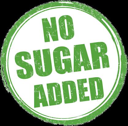 sans sucre ajouté